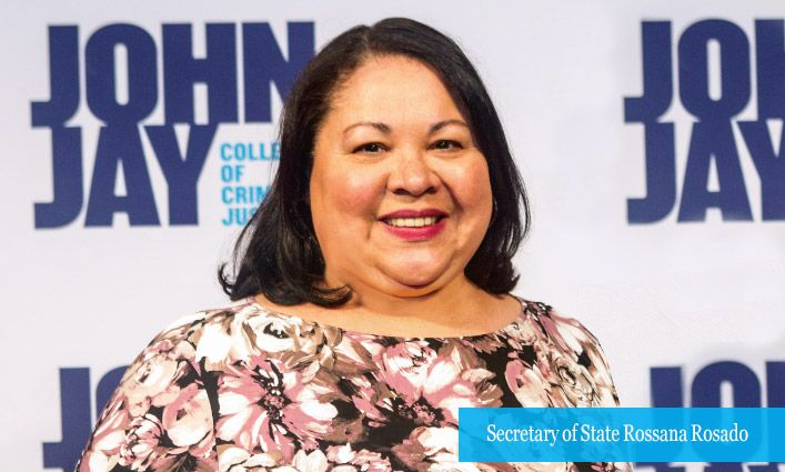 N.Y. Secretary of State Rossana Rosado Will Earn Her Master's Degree in Criminal Justice From John Jay's Online Program