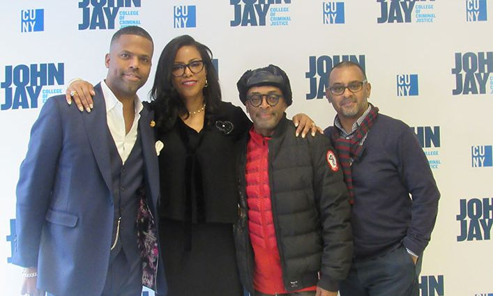 Director Spike Lee Visits John Jay And Talks Social Responsibility