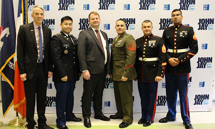 John Jay is Named Best College for Veterans by College Choice