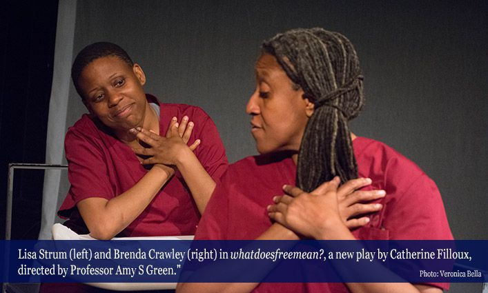 Professor Amy Green Directs A Powerful Play On Criminal Justice