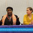 Fainess Lipenga and Martina Vandenberg Shine A Spotlight On Labor Trafficking