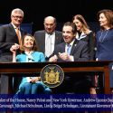 Governor Andrew Cuomo Signs the Red Flag Bill At John Jay College with Speaker of the House Nancy Pelosi