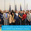 John Jay College Pays Tribute to Veterans with Veteran Day Observance Ceremony